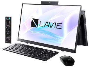 LAVIE Home All-in-one HA370/RAB PC-HA370RAB [ファインブラック]