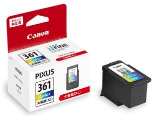 Canon 純正 インクカートリッジ BC-361XL 3色カラー 大容量タイプ